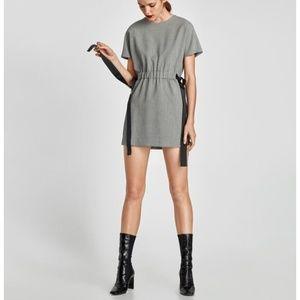 NWT ZARA Houndstooth MINI dress
